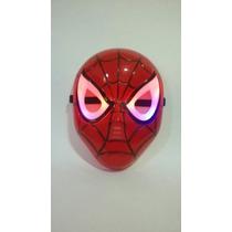 Mascara Spider Man (homem Aranha) Os Vingadores Luz E Som