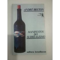 Livro Manifesto Do Surrealismo André Breton Raro