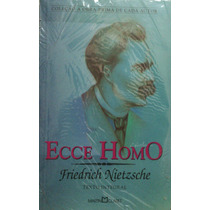 Livro Friedrich Nietzsche - Ecce Homo