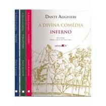 Livros Divina Comédia 3 Volumes Dante Alighieri Frete Grátis