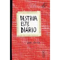 Destrua Este Diário Capa Vermelha Keri Smith Livro Novo Lacr