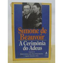 Livro - A Cerimônia Do Adeus - Simone De Beauvoir