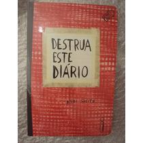 Destrua Este Diário - Capa Vermelha- Keri Smith- Livro Novo