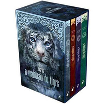 Box Coleção A Maldição Do Tigre 4 Volumes - Pronta Entrega