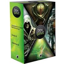 Livro - Box Livros De Games - Assassin´s Creed (3 Livros)