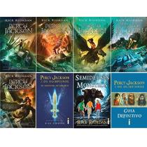 Coleção Percy Jackson ( 8 Livros ) - Novo - Rick Riordan