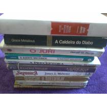 Lote Com 10 Livros Ótimos Títulos Usados Fotos Reais