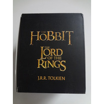 Box 4 Livros The Lord Of The Rings J.r.r. Tolkien The Hobbit