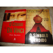 2 Livros Dan Brown - O Código Da Vinci + O Simbolo Perdido