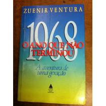 Livro 1968 Ano Que Não Terminou Zuenir Ventura