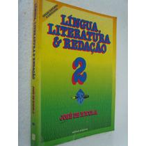 Livro Lingua Literatua E Redação 2 - Jose De Nicola