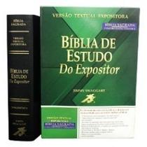 Bíblia De Estudo Do Expositor - Preta