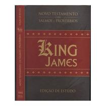 Livro Novo Testamento Com Salmos E Provérbios - King James