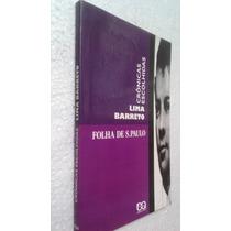 Livro Crônicas Escolhidas Folha De São Paulo - Lima Barreto
