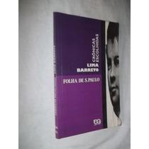 * Livro - Lima Barreto - Cronicas Escolhidas - Literatura