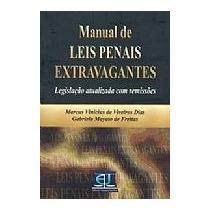 Livro Manual De Leis Penais Extravagantes Marcus Vinicius De
