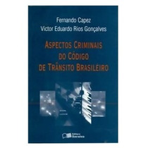 Livro Aspectos Criminais Do Código De Trânsito Brasileiro Fe