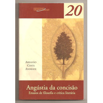 Livro Angústia Da Concisão - Abrahão Costa Andrade