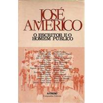 Escritor Homem Público José Americo Almeida Paraíba História