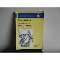 Livro Convite A Leitura De Paulo Freire - Moacir Gadotti Rv