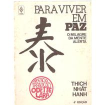 Para Viver Em Paz - Thich Nhât Hanh