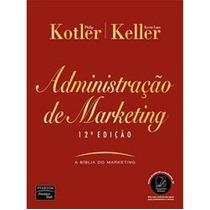 Livro Administração De Marketing Kotler 12ª Edição