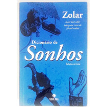 Dicionário De Sonhos - Zolar - Livro Novo