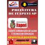 Apostila Digital Prefeitura Itapevi Sp Ag Com Saude Acs2015
