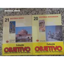 Coleção Objetivo Historia Geral E Integrada Nº 21 E 22 Kk