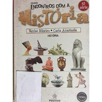 Livro Coleção Encontros Com História 5ªsérie - Vanise Ribeir