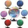 Globo Terrestre Multicolor Led, Abajur, Luminária - 30cm