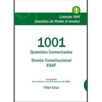 Direito Constitucional 1001 Questões Comentadas Esaf