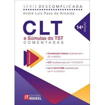 Clt E Súmulas Do Tst Comentadas (14ed/2015)