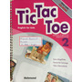 Livro Tic Tac Toe 2, English For Kids - Incluso Cd-rom -