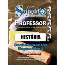 Apostila Professor Fundamental Ii E Médio Pref Sp História