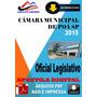 Apostila Digital Concurso Camara Poa Sp Oficial Legislativo