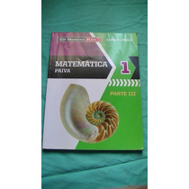 Livro Matemática Paiva 1 Parte Iii Editora Moderna Plus