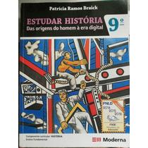 Livro: Estuda História Das Origens Do Homem À Era Digital.