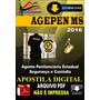 Apostila Agepen Ms Ag Penitenciario Seguranca Cusdodia 2016