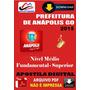 Apostila Digital Concurso Prefeitura Anapolis Goias 2015