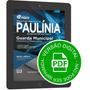 Apostila Guarda Municipal De Paulínia Sp - Digital Download