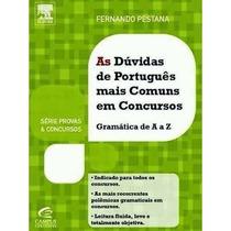 Livro As Dúvidas Mais Comuns De Português - Fernando Pestana