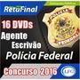 Polícia Federal - Preparatório 16 Dvd Vídeo Aulas+link