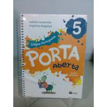 Livro Porta Aberta - Lingua Portuguesa 5 Ed. Renovada Ftd