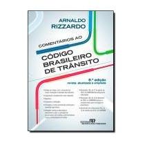 Comentarios Ao Codigo De Transito Brasileiro - 8ª Edicao
