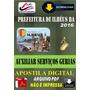 Apostila Prefeitura Ilheus Ba Auxiliar Servicos Gerais 2016