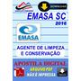Apostila Digital Emasa Sc Agente Limpeza Conservacao 2016