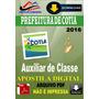 Apostila Digital Prefeitura Cotia Sp Auxiliar De Classe 2016