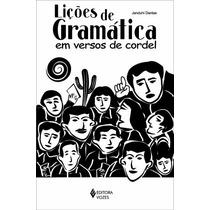 Livro Lições De Gramática Em Versos De Cordel