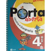 Livro Porta Aberta ,história E Geografia 4ºano - Mirna Lima